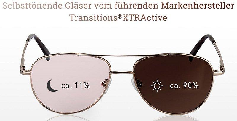 Selbsttönende Brillen