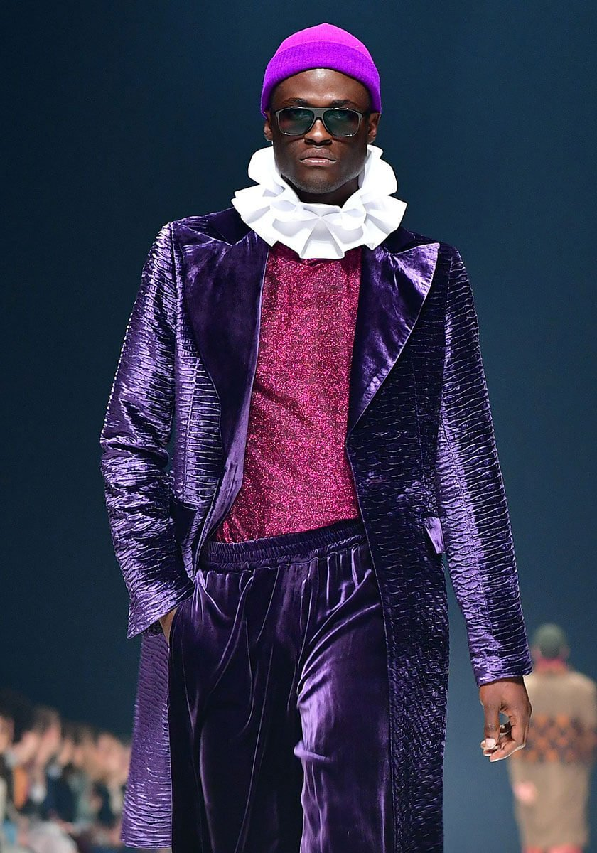 Fashion Week 2020 Kilian Kerner - Modell: Vasco