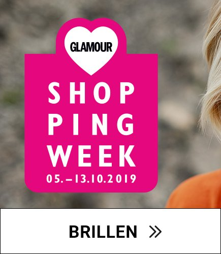 GLAMOUR Shopping-Week 20% Rabatt auf Brillen