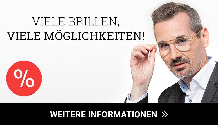 Zwei Gleitsichtbrillen für 239 Euro