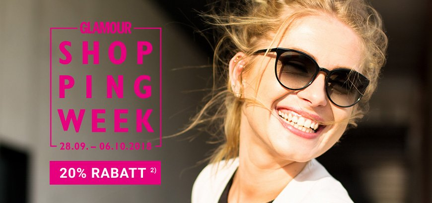 GLAMOUR Shopping-Week 20% Rabatt