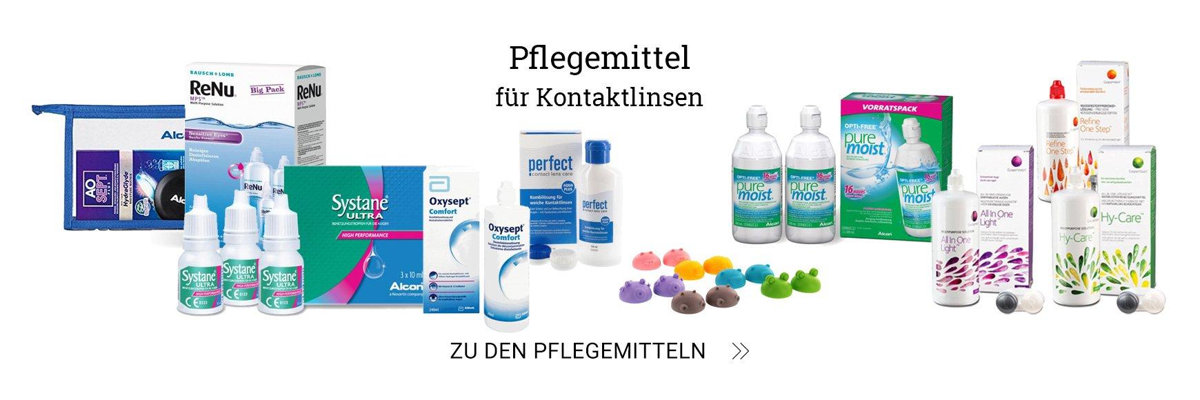 Multifokale Kontaktlinsen - versandkostenfrei bei Brille24