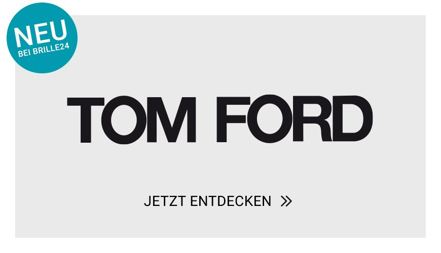 Neu bei Brille24: Tom Ford